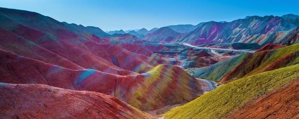 Parque Geológico Zahngye Danxia, uno de los lugares irreales de China