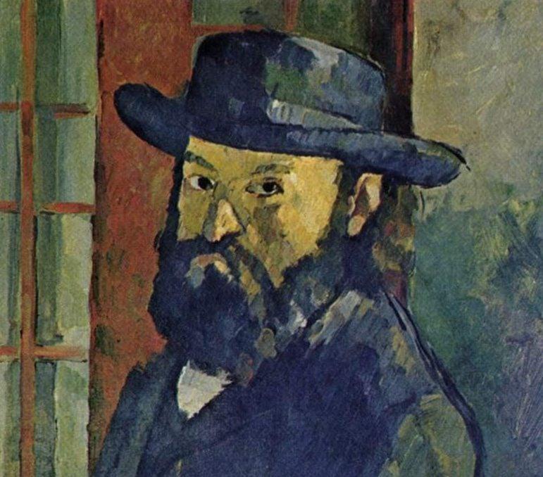 Autorretrato de Paul Cézanne