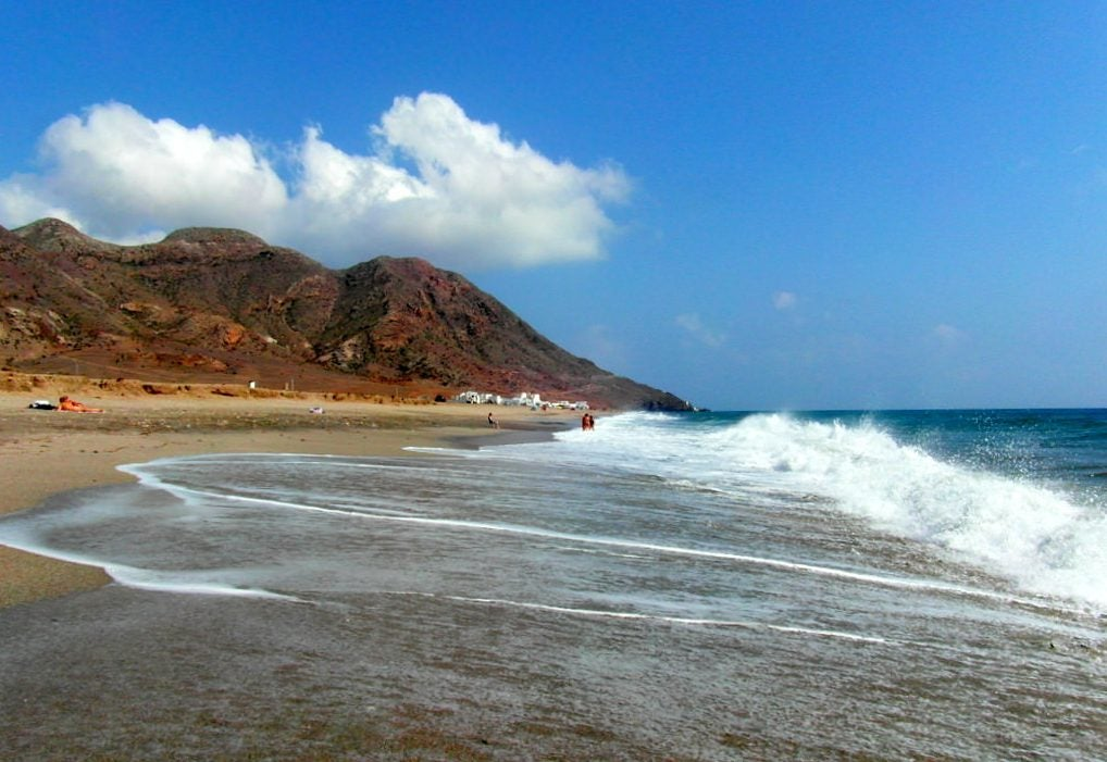 Playa de las Salinas en Cabo de Gata