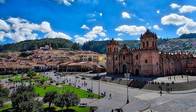 Plaza de Armas en Cuzco, Perú