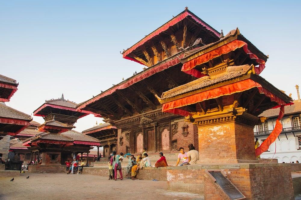 Plaza Durbar en Katmandú
