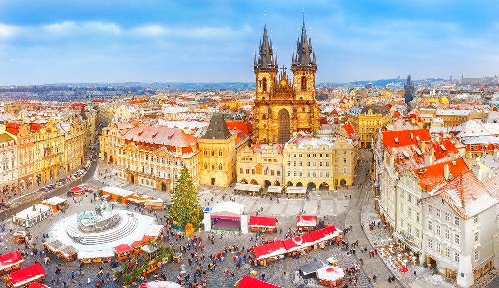 Plaza de la Ciudad Vieja en Praga