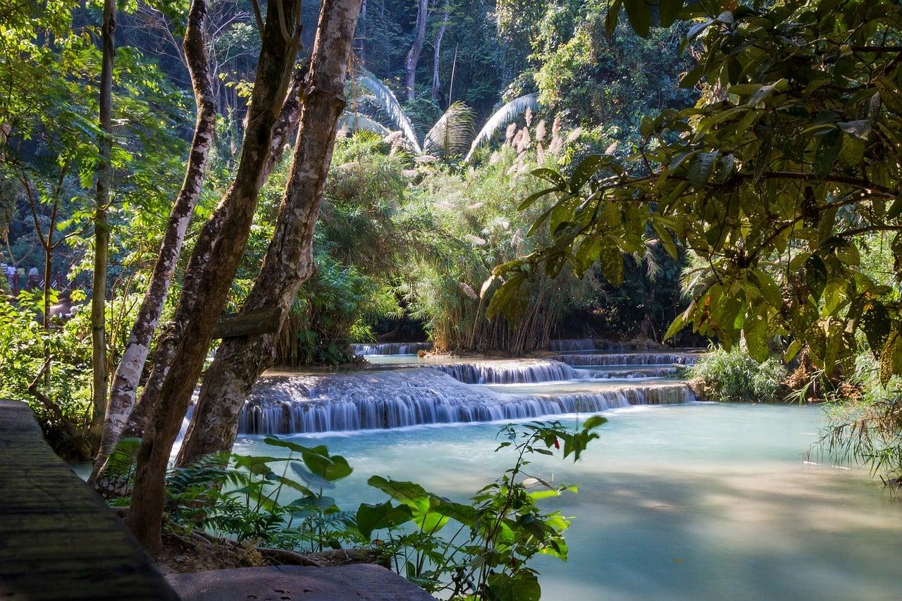Luang Prabang en Laos, uno de los países paradisíacos donde vivir es barato