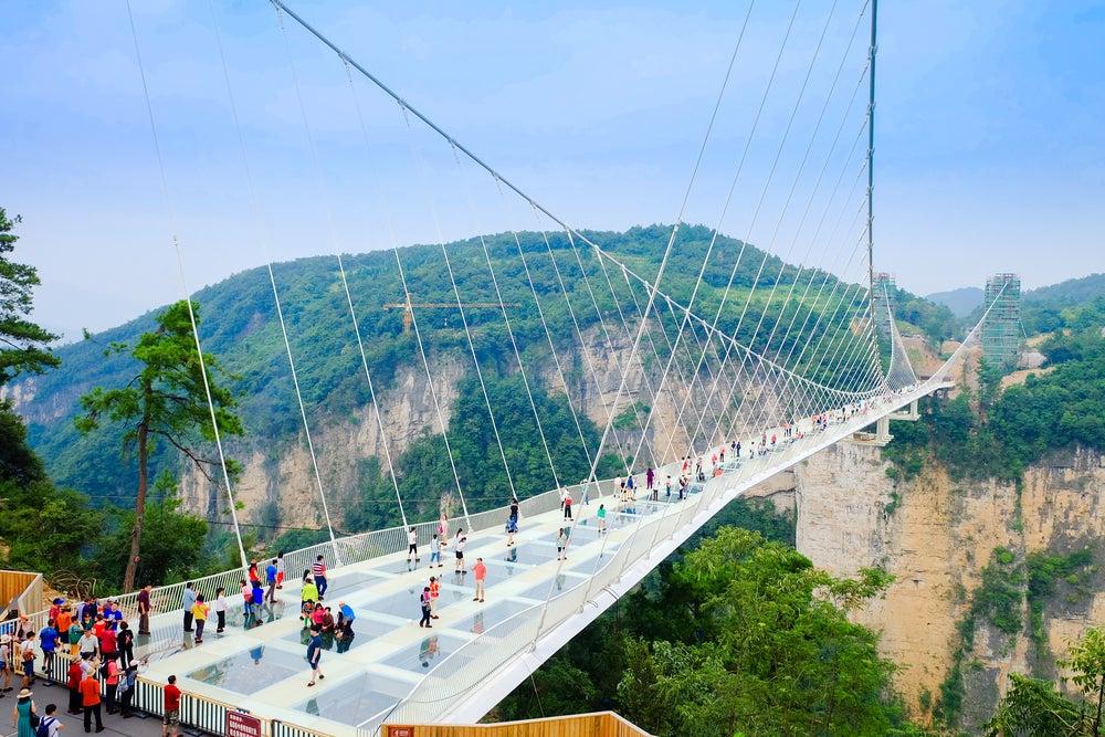 Puente de Hunan en China