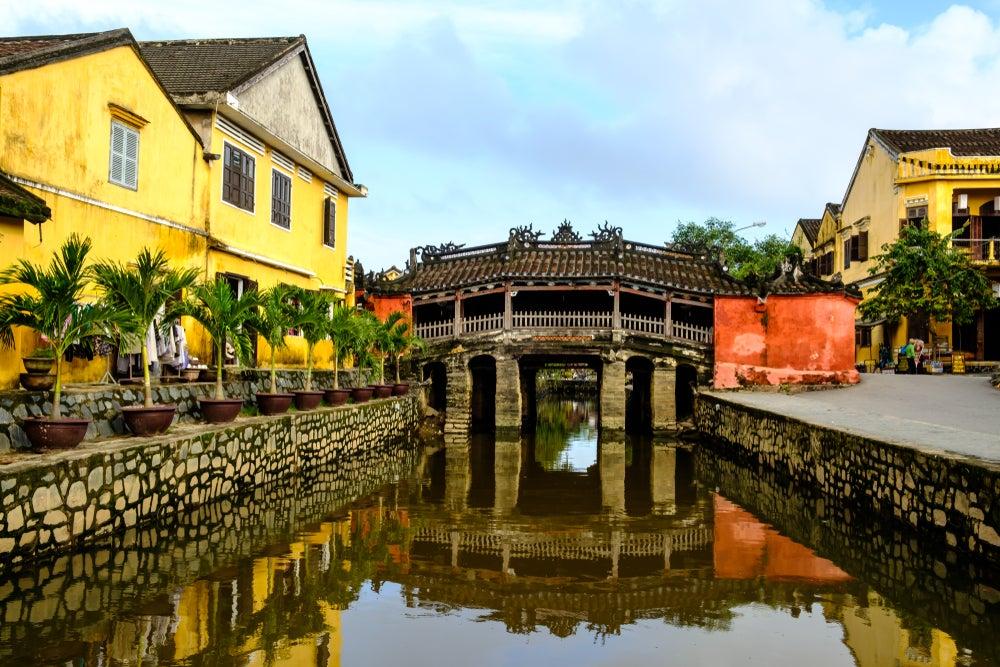 Puente japones, uno de los lugares en Hoi An que se deben ver