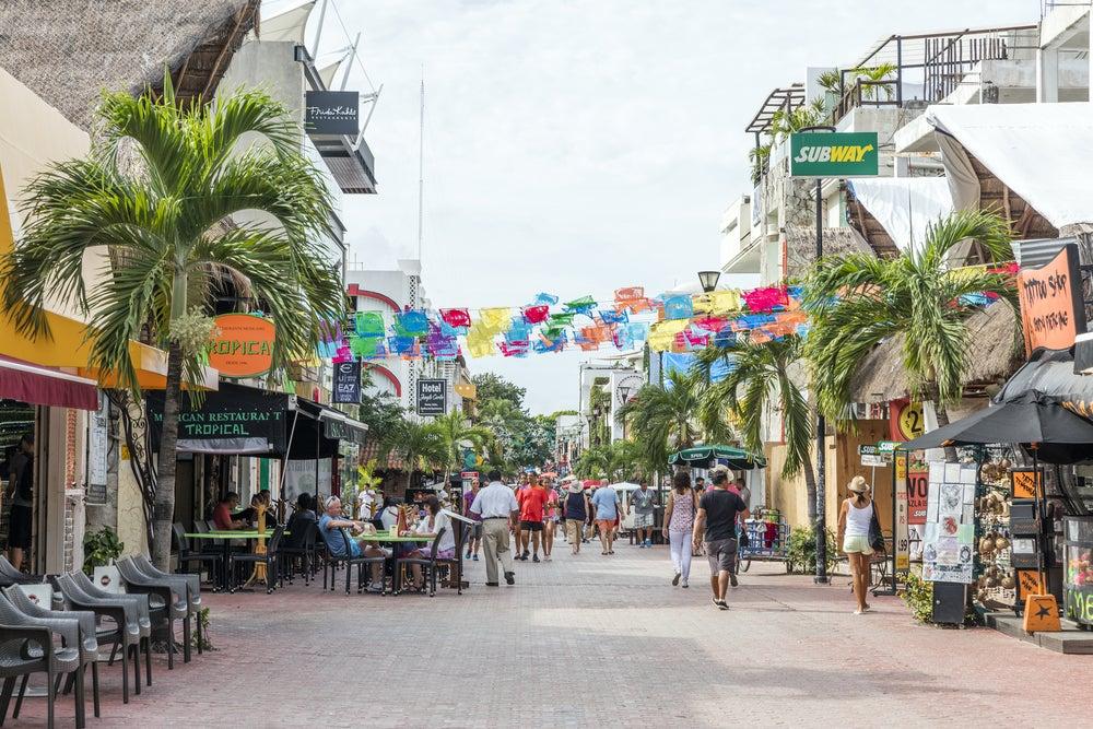 Quinta Avenida en Playa del Carmen