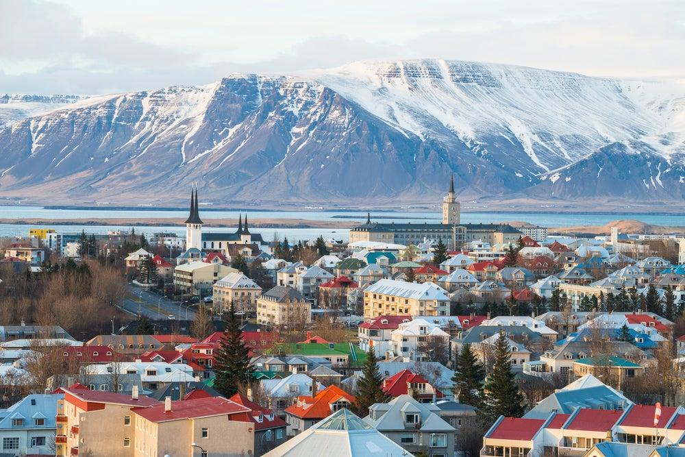 Reikiavik en Islandia