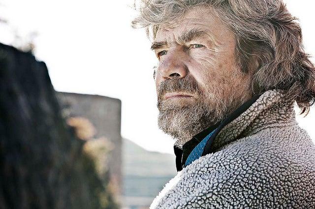 Reinhold Messner, primero de los aventureros que subieron los ochomiles