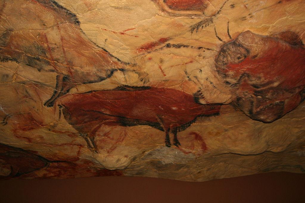Reproducción de la cueva de Altamira