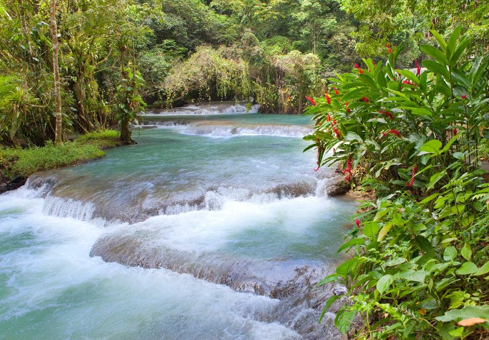 Río Dunn en Jamaica