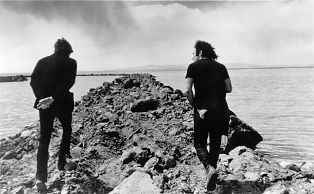 Robert Smithson y Richard Serra