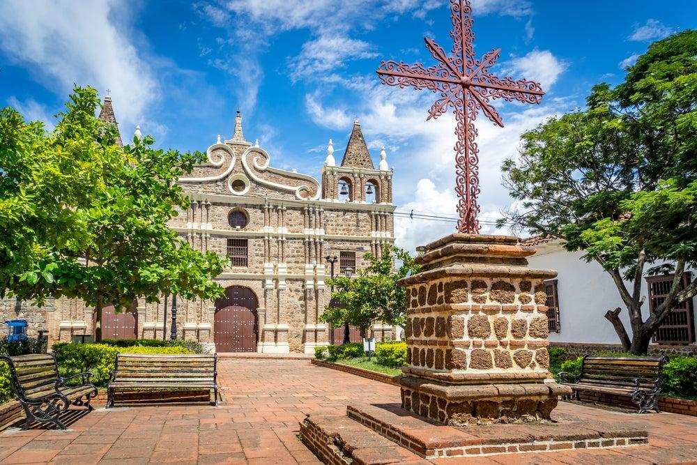 Iglesia de Santa Bárbara en Santa Fe
