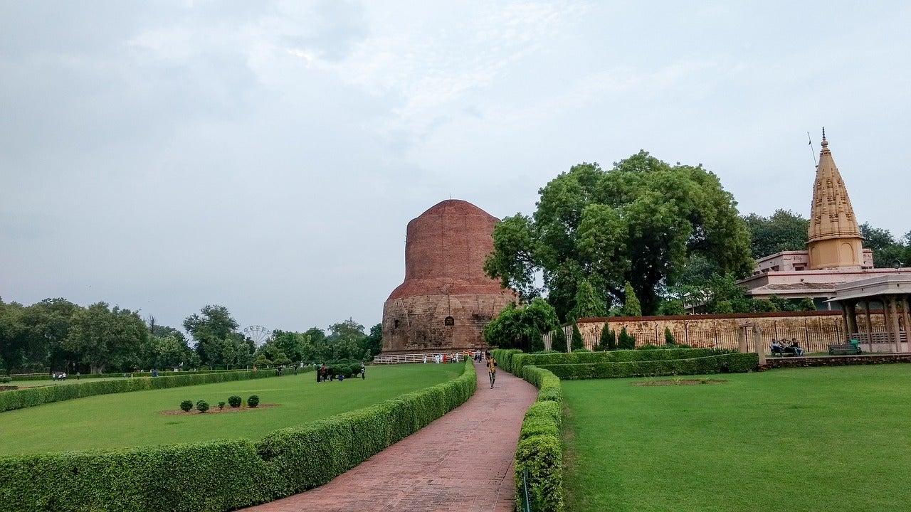 Sarnath, una de las ciudades sagradas del budismo