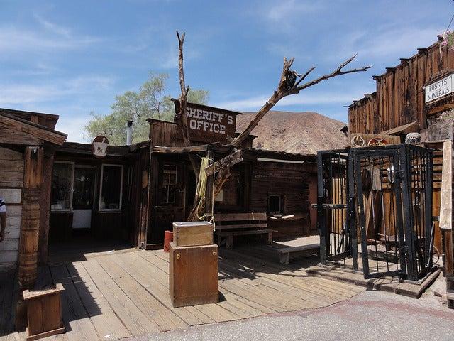Oficina del sheriff en Calico