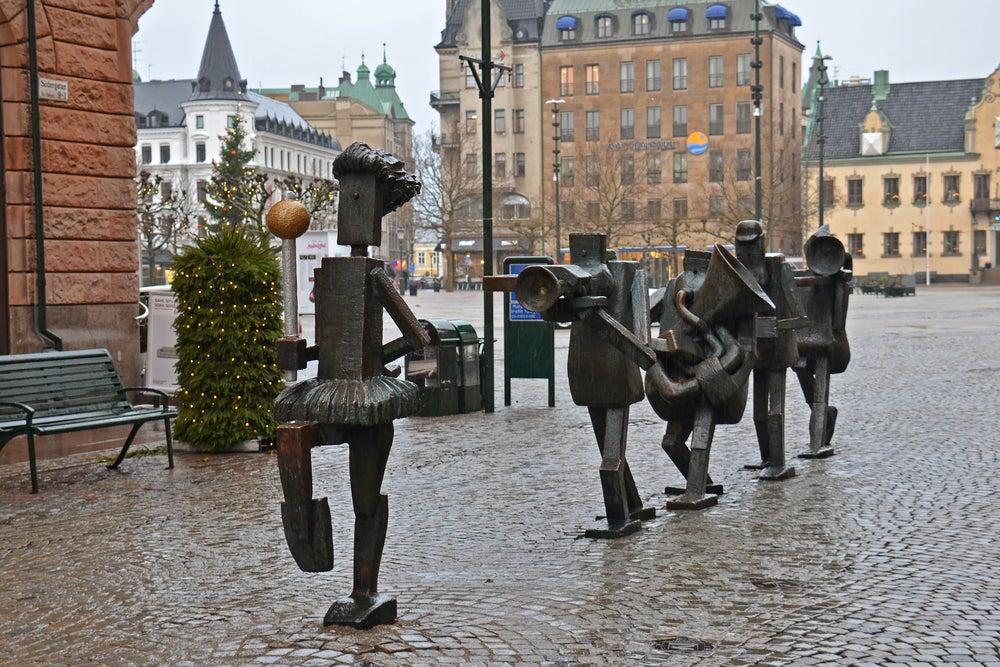 Calle Södergatan en Malmo