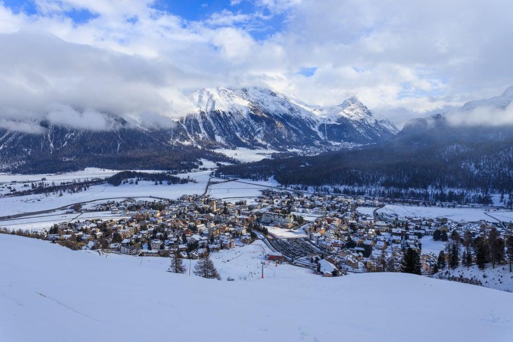 Estaciones de esquí en Suiza, St. Moritz