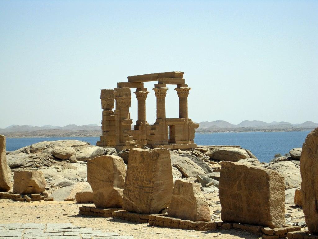 Templo de Kalabsha en la antigua Nubia