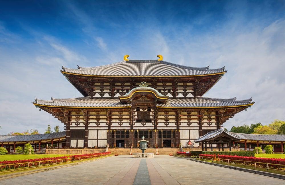 Templo Todaji en Japón