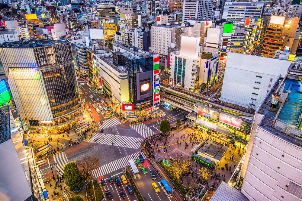 Calles de Tokio, la ciudad más segura del mundo