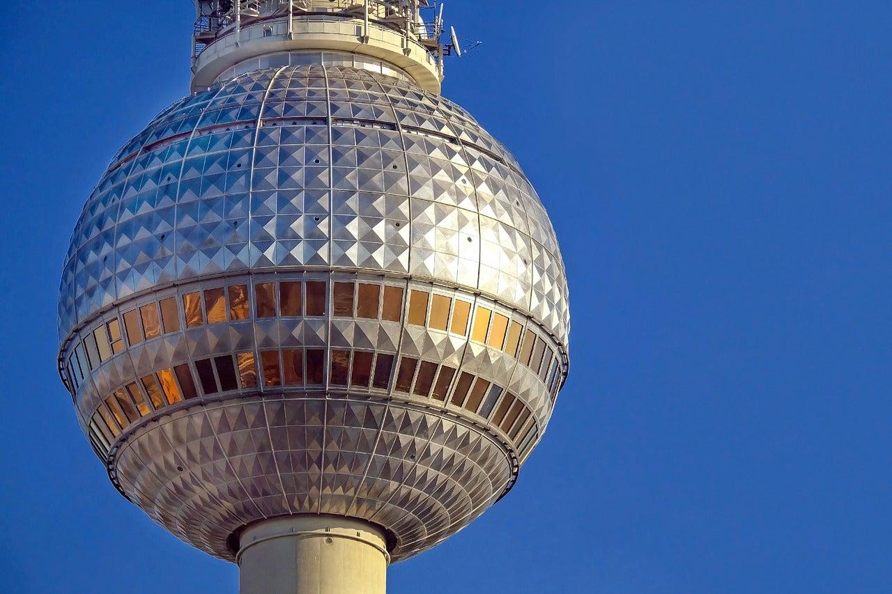 Mirador de la torre de televisión de Berlín