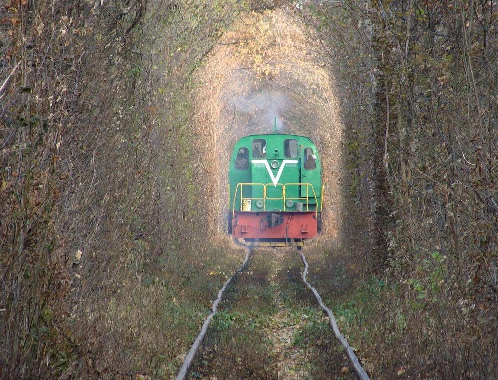 Tren en el Túnel del Amor