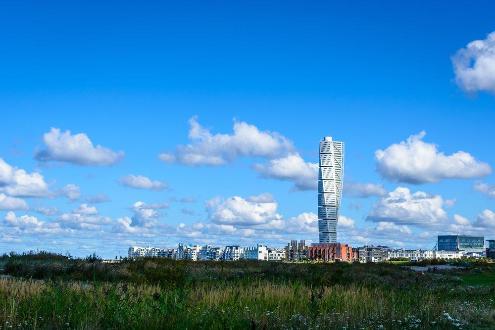 Edificio Turning Torso en Malmö