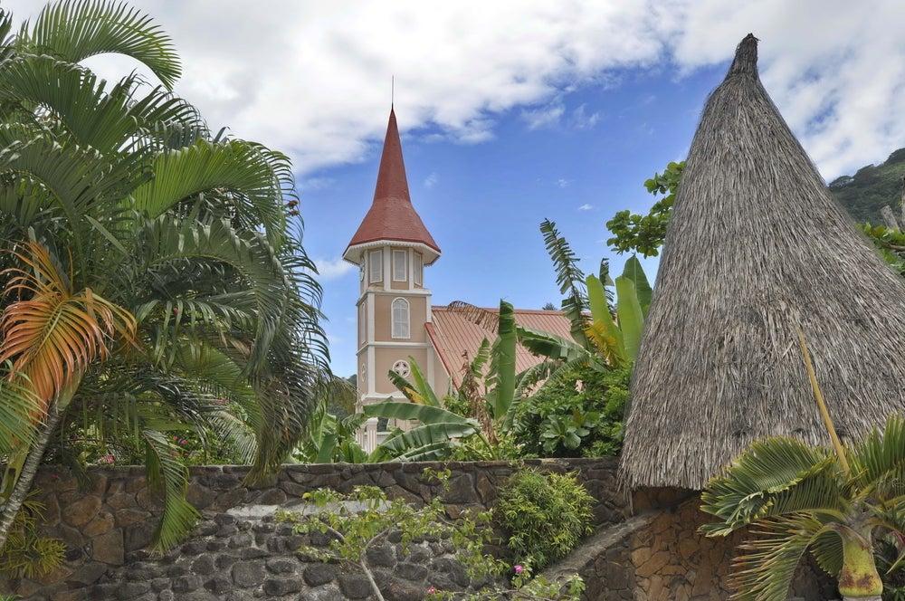 Vaitape uno de los lugares que visitar en Bora Bora