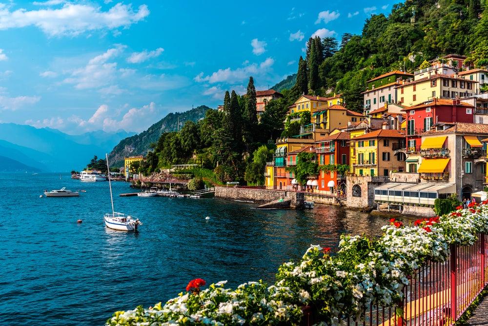 Lago di Como uno de los destinos más escogidos por los famosos