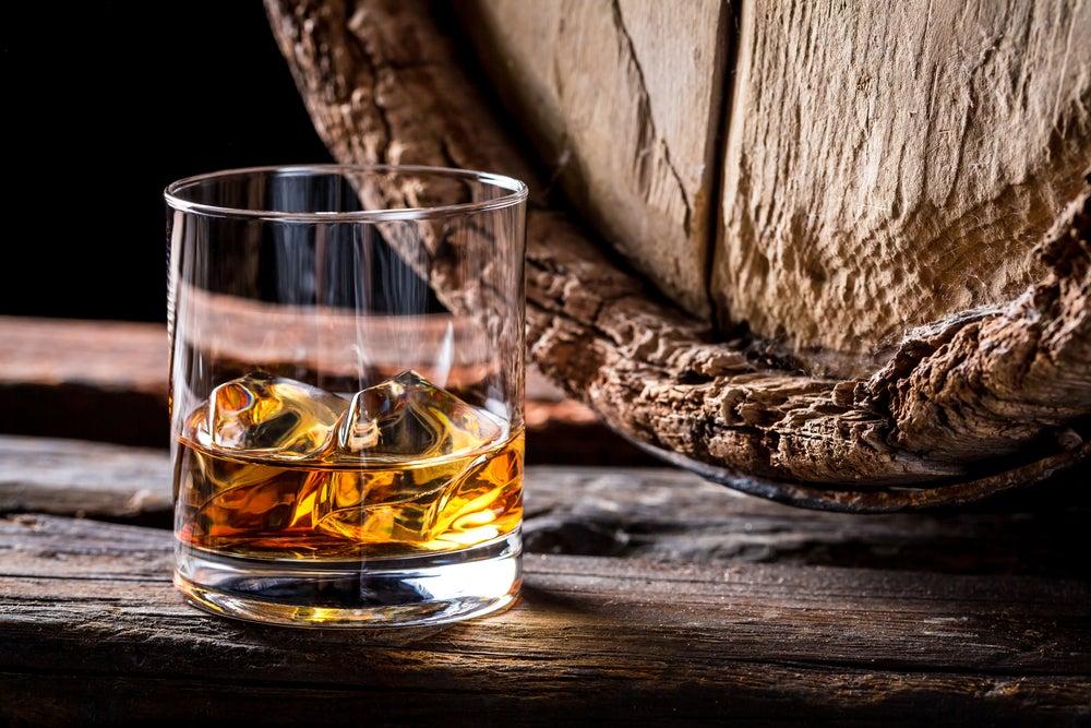 Vaso de Whisky escocés