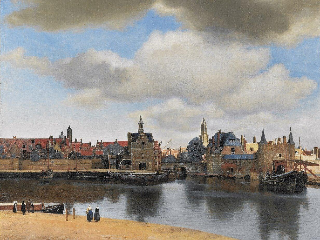 Vista de Delft de Vermeer
