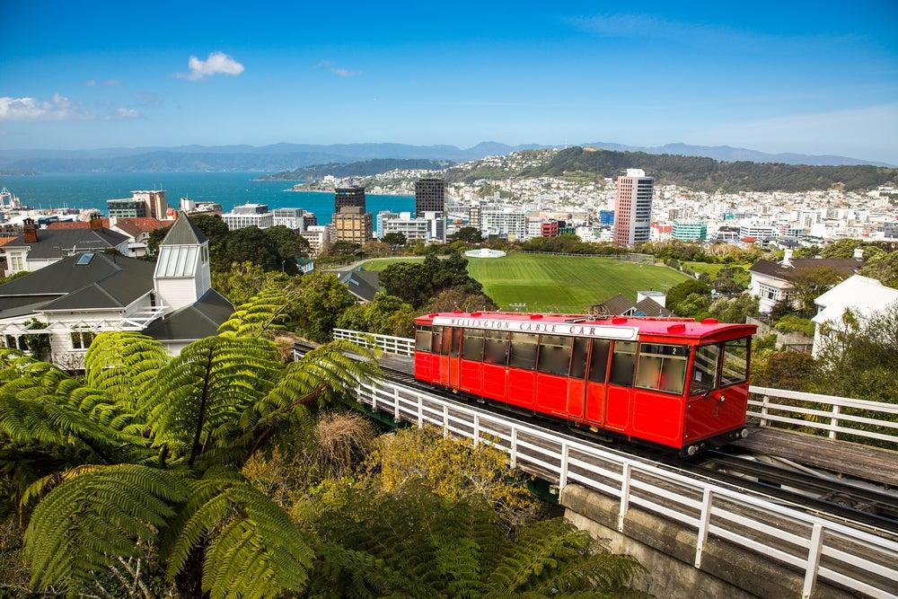 Wellington en Nueva Zelanda