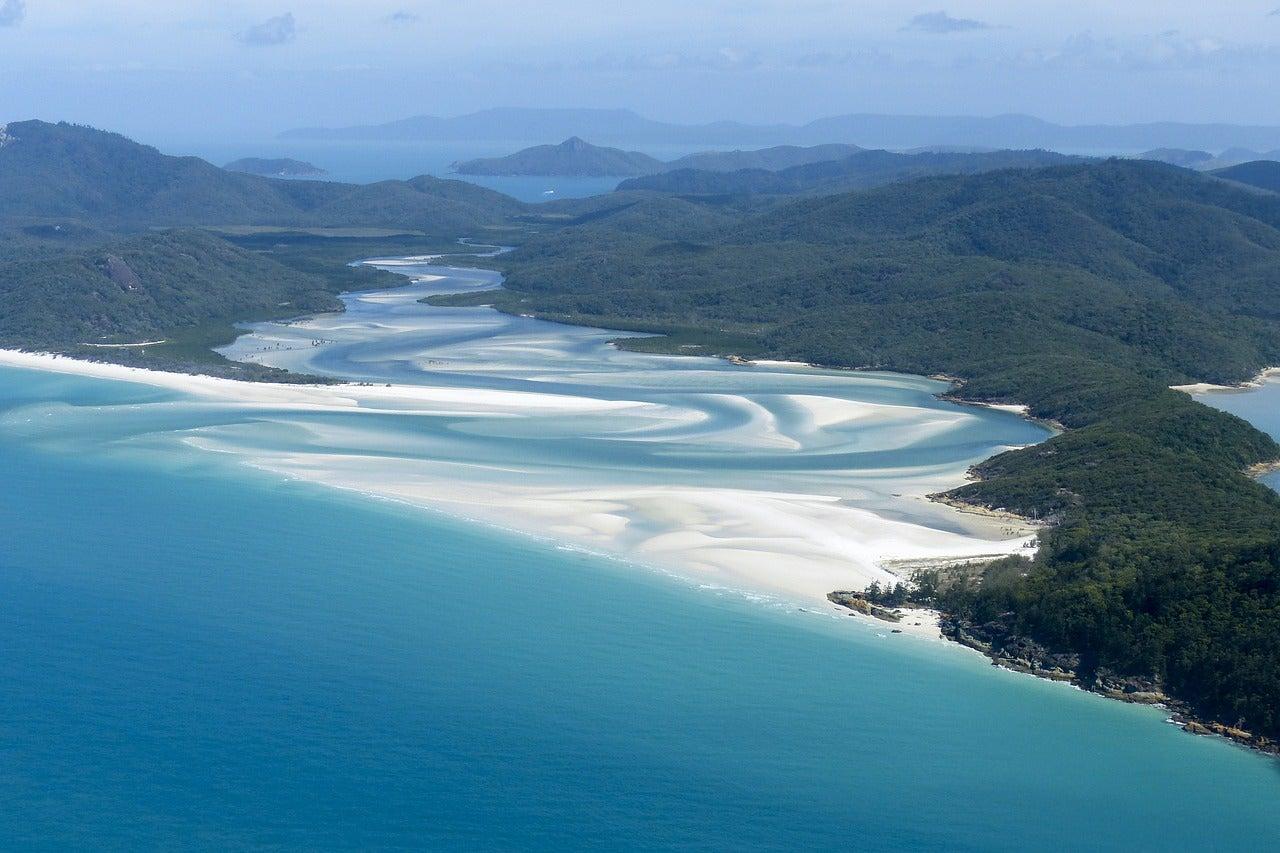 ISla Whitsunday en la Gran Barrera de Coral