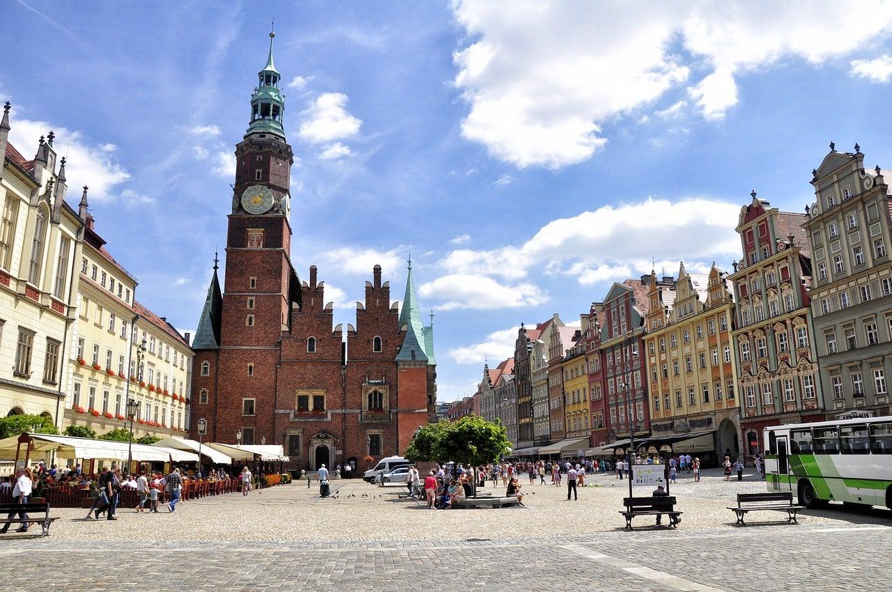 Plaza del Mercado de Wroclaw, lugar para una escapada low cost