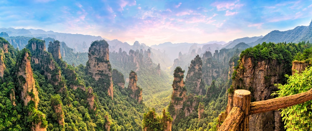 Parque Nacional Zhangjiajie en China
