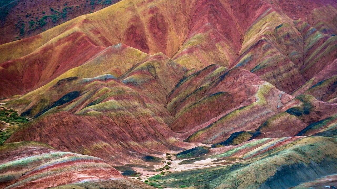 Montañas de Zahngye Danxia