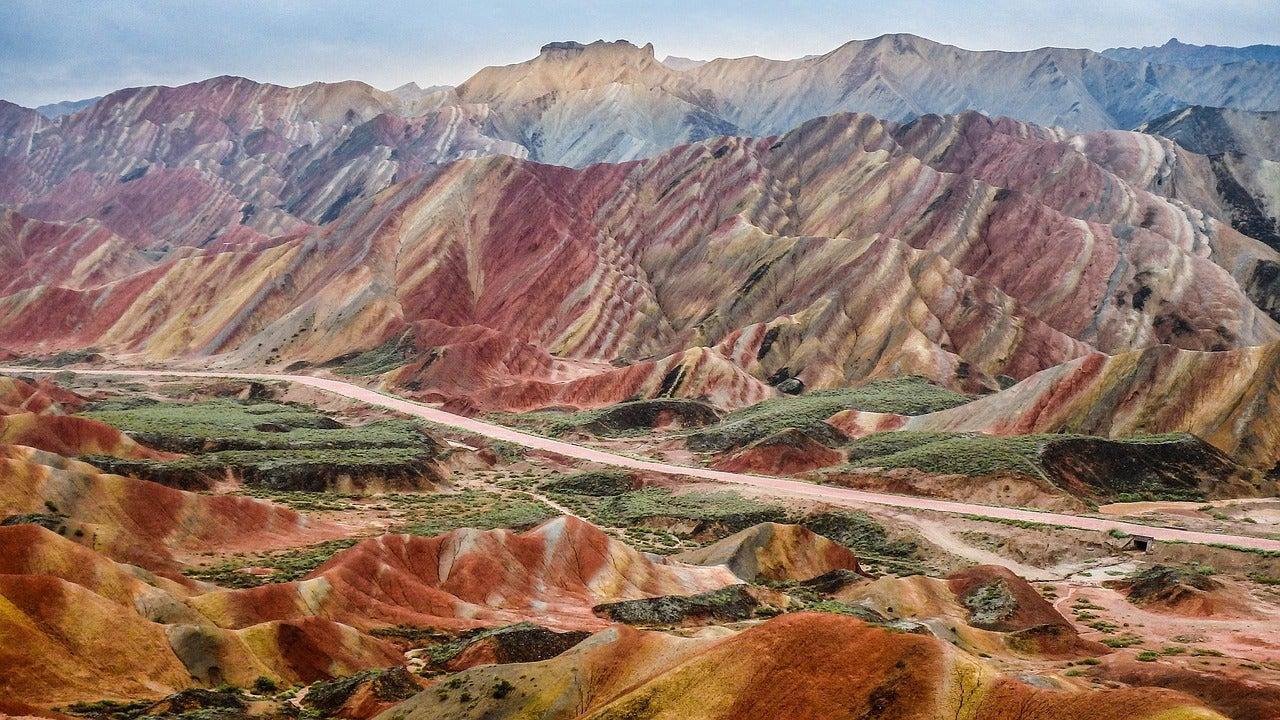 Paisaje del Parque Geológico Zahngye Danxia