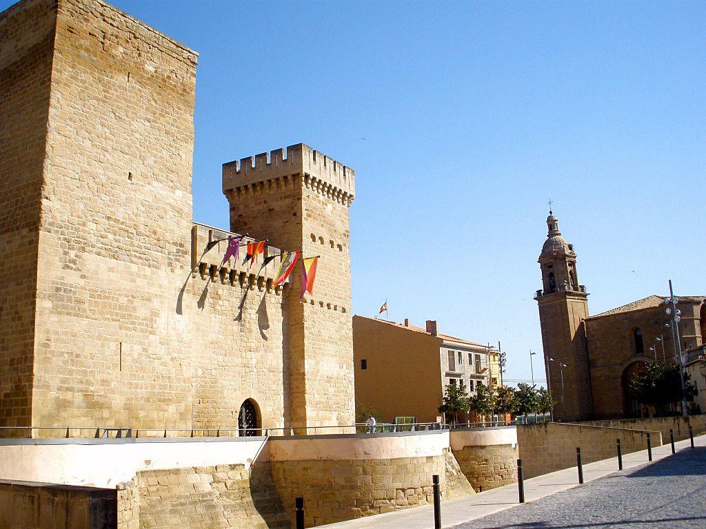 Castillo de Aguas Mansas en Agoncillo