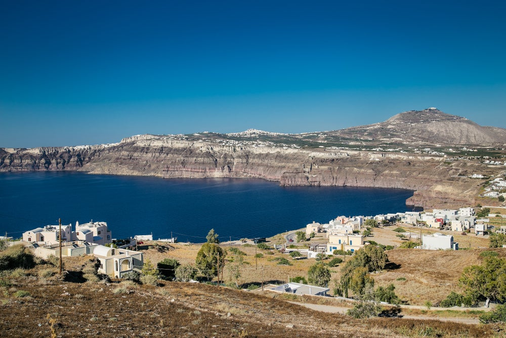 Akrotiri, lugar para practicar buceo en Santorini