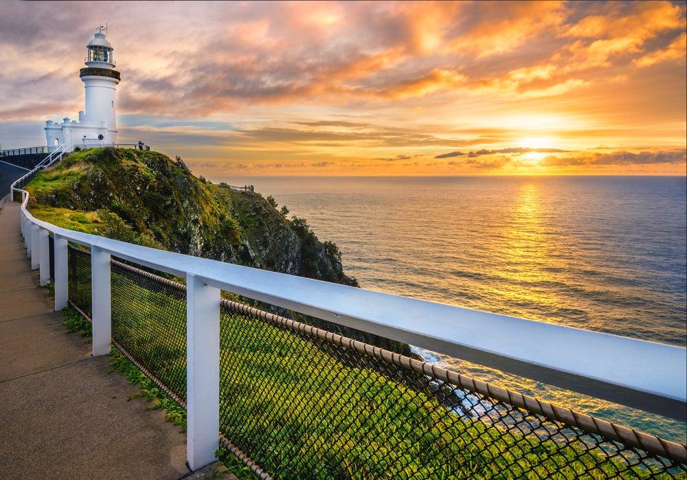 Amanecer en Byron Bay