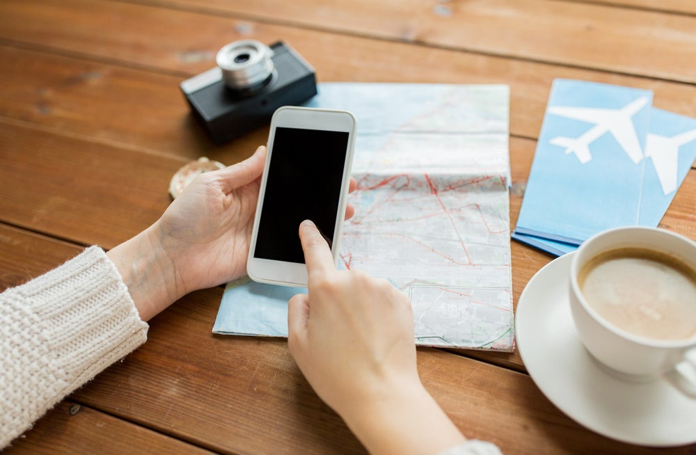 Aplicación de viajes