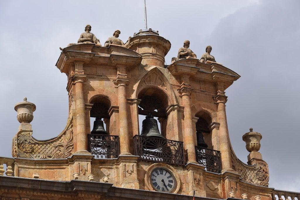 Espadaña del Ayuntamiento de Salamanca