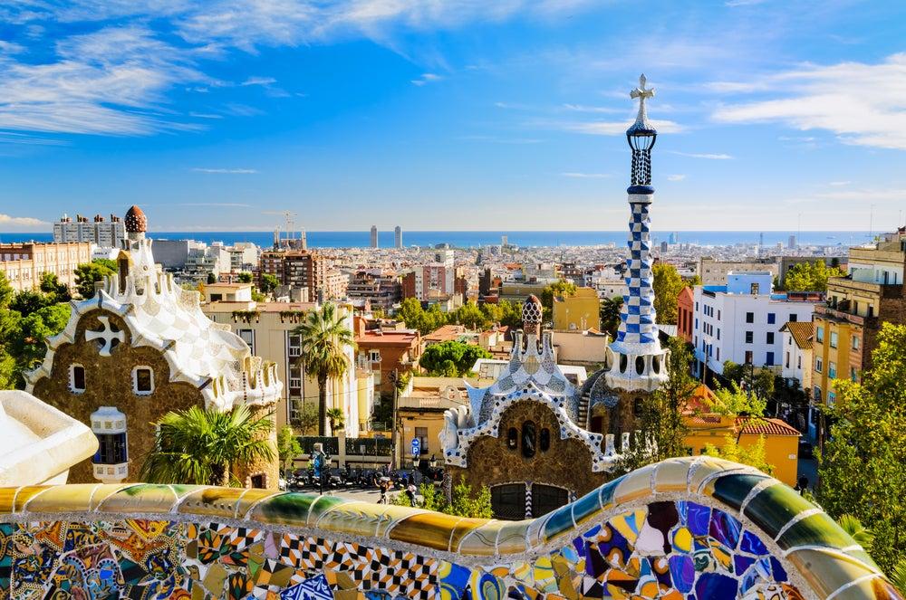 Barcelona desde el parque Güell