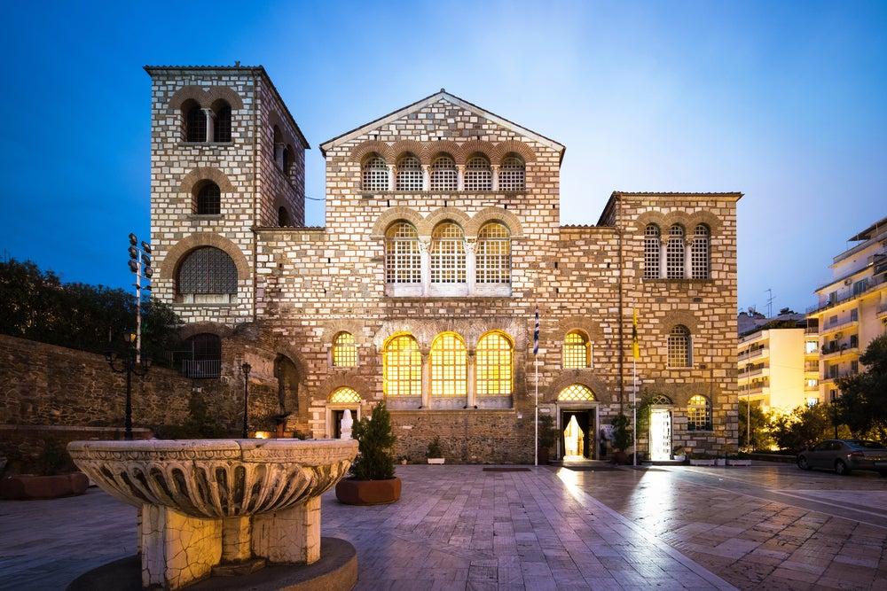 Basílica de San Dimitrio en Tesalónica