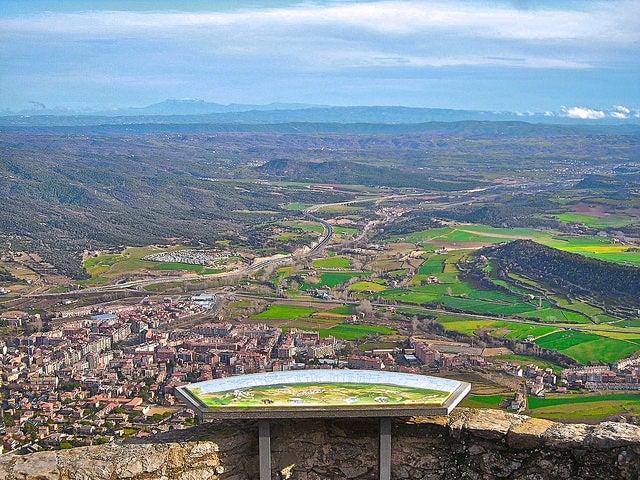 Vista de Berga en Berguedà