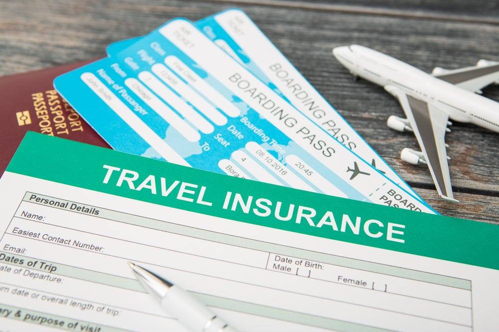 Imágenes de un seguro de viajes