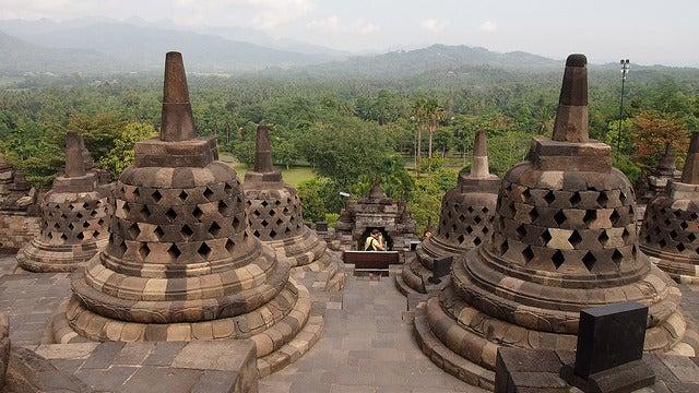 Templo de Borobudur una de las cosas que ver en Indonesia