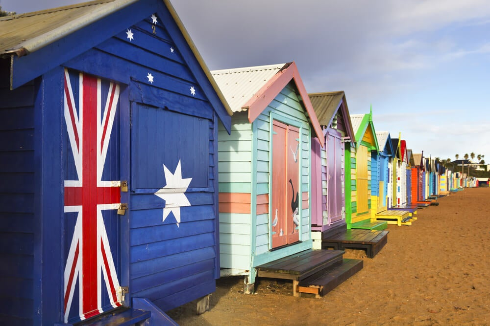Brighton Beach, uno de los tesoros de Melbourne