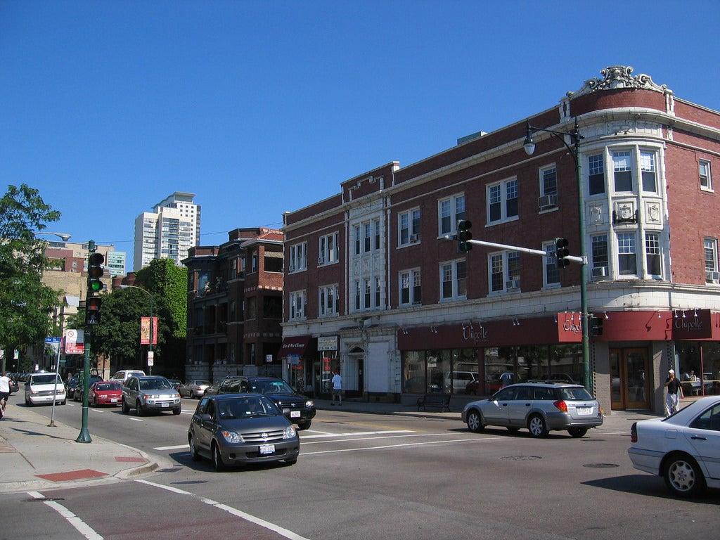 Broadway Street en Chicago
