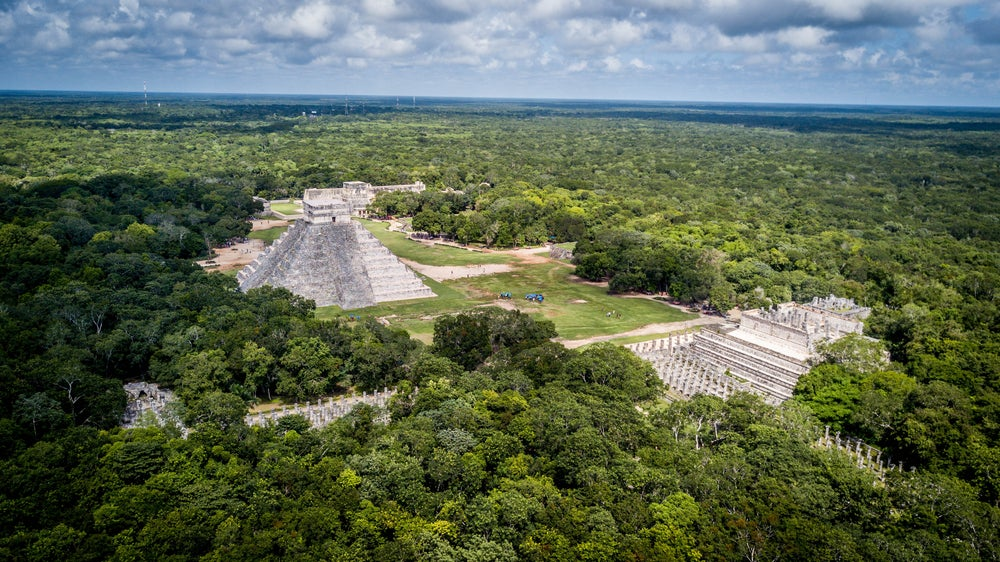 Sitio arqueológico de Calakmul