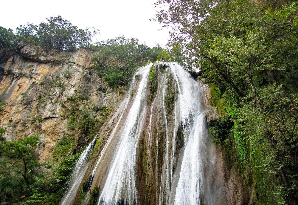 Cascada Cola de Caballo en Monterrey